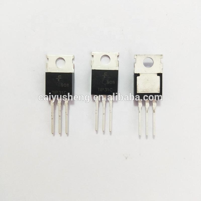 Transistor TIP31C  PNP 115V 40W TO220 LOT DE 2 PIECES