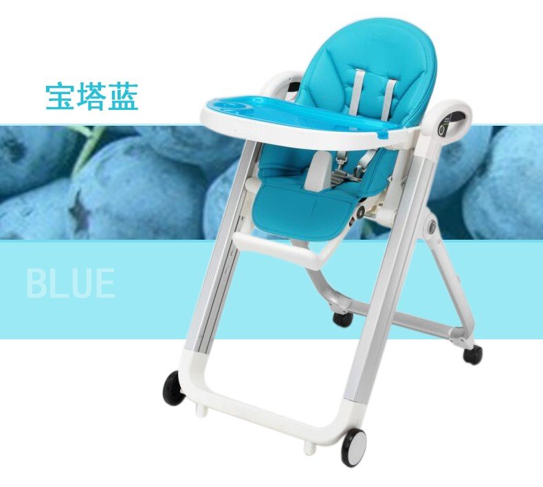 Hot Selling With Wheels Baby High Chair Feeding Chairs