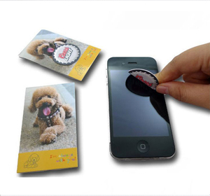 Laptop round sticky cell mobile back sticky screen cleaner