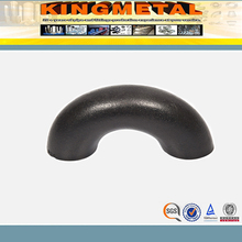 best factory price seamless carbon steel black elbow