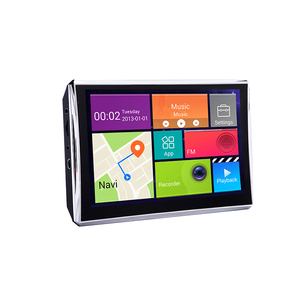 Hot sale 7 inch android car GPS navigation with front camera support google map and free off-line map
