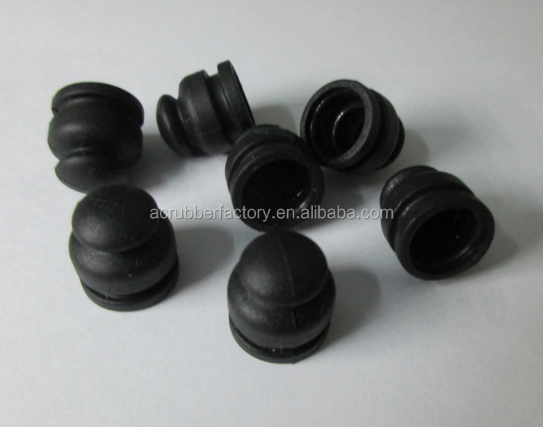 silicone rubber cap for switch cap sleeve for button end caps for copper pipe