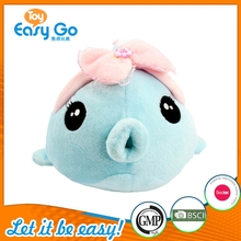 Cute Wholesale Sea Animal Plush Toy Stuffed Soft Plush Blue Fish
