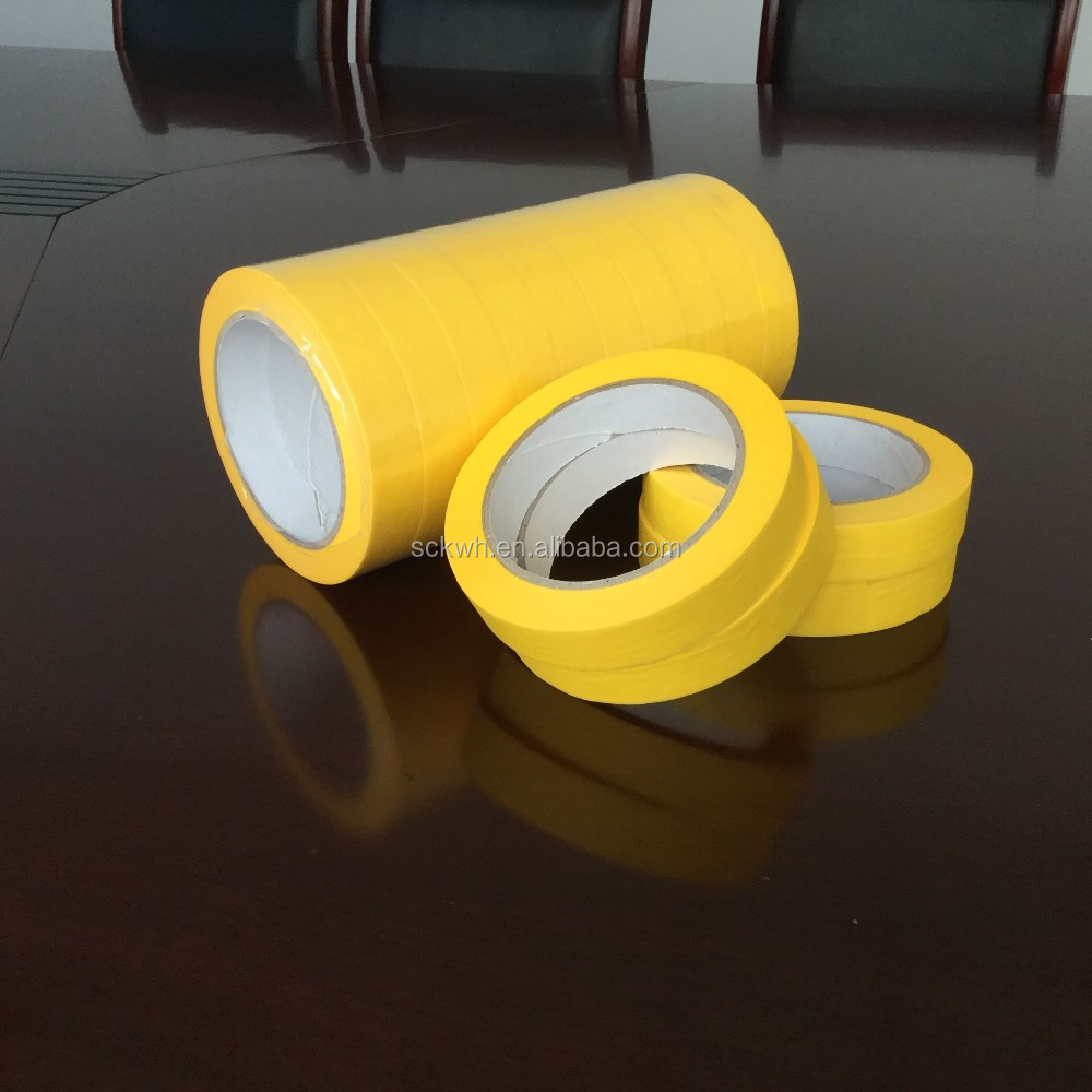 Best saling top quality spray masking tape yellow