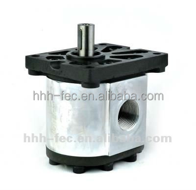 Hydraulic gear pump for construction agriculture and industry