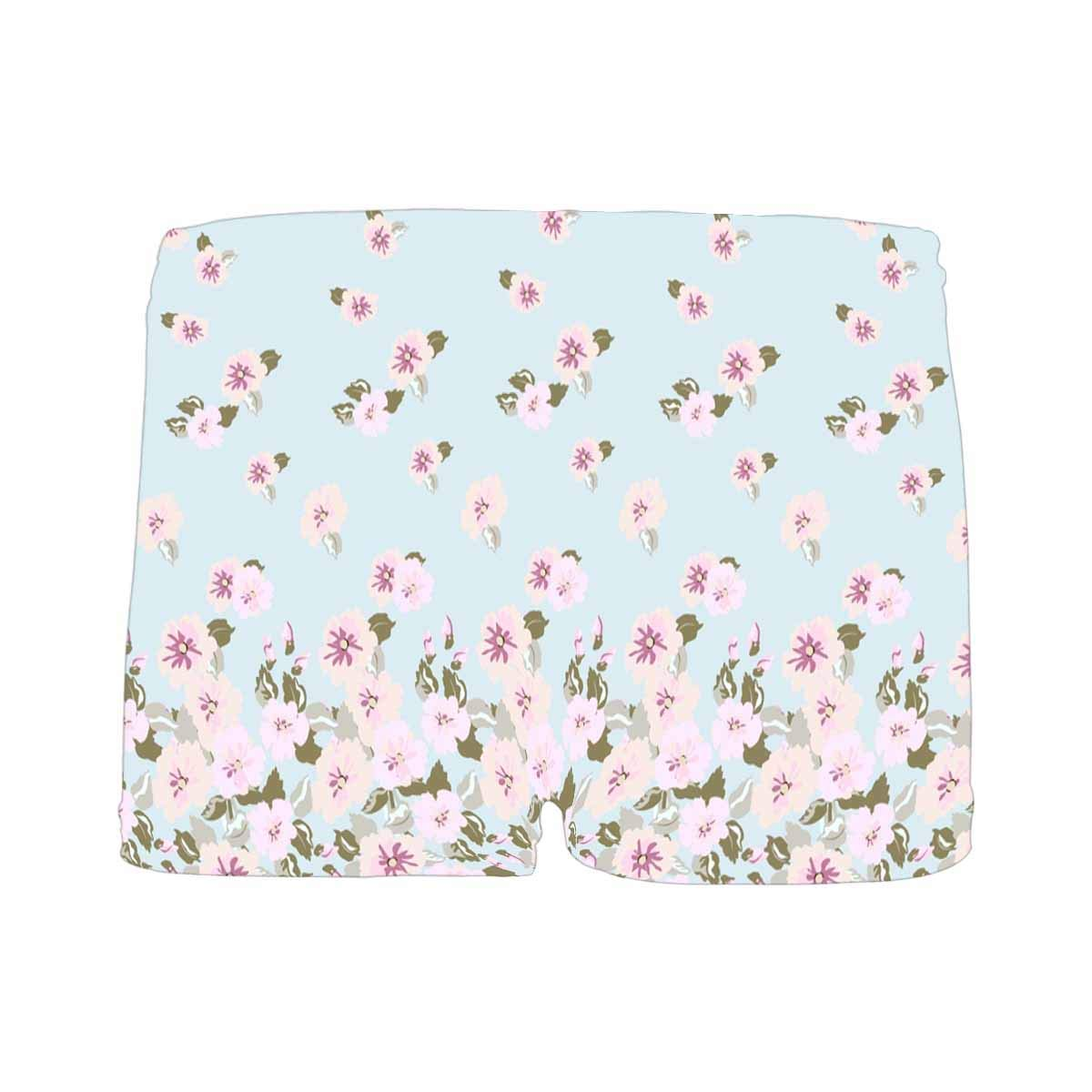 INTERESTPRINT Boys Gorgeous Pattern in Cute Small Rose Flowers All Over Print Boxer Briefs 5T-2XL