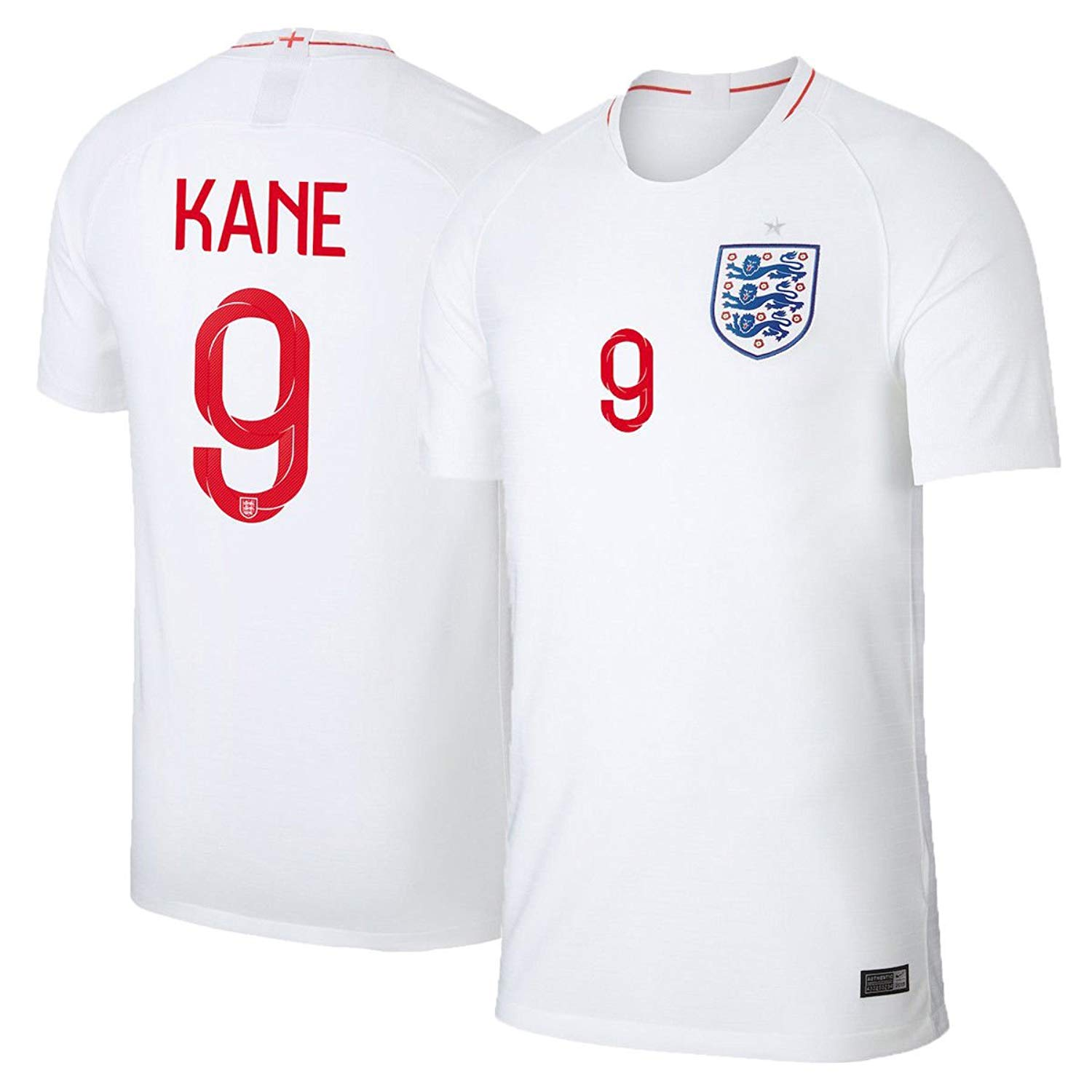 Get Quotations · LINjsy 2018 Russia World Cup Kane  10 England Home Soccer  Jersey Size M b4f551e55