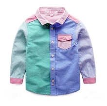 China Fabriek Nieuwe 100% Coton Oxford Casual Kids Shirt Voor <span class=keywords><strong>Jongens</strong></span> <span class=keywords><strong>Shirts</strong></span>