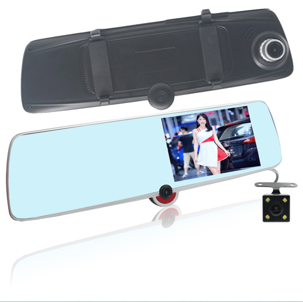 Full HD 1080P Vehicle Blackbox DVR User Manual Fashion 5 Inch Touch Screen 3 Cameras Car DVR Recorder