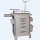 ZG-TC7 hospital furniture medical equipment emergency trolley equipment