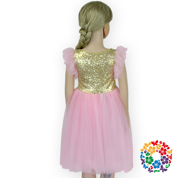 8e0d5db3a Hot Shiny And Sparkly Children Girl Pink Tutu Dress