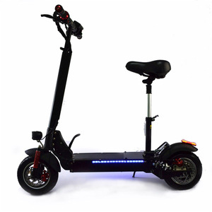 fastest high power 10 inch electric scooter motor offroad 800w 1500w 50km 60km/h big electric scooter