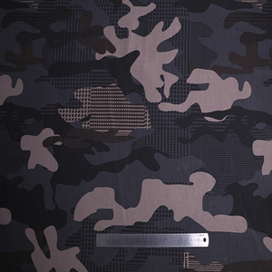 2019 Shaoxing Textile waterproof tear resistant camouflage canvas polyester bag fabric