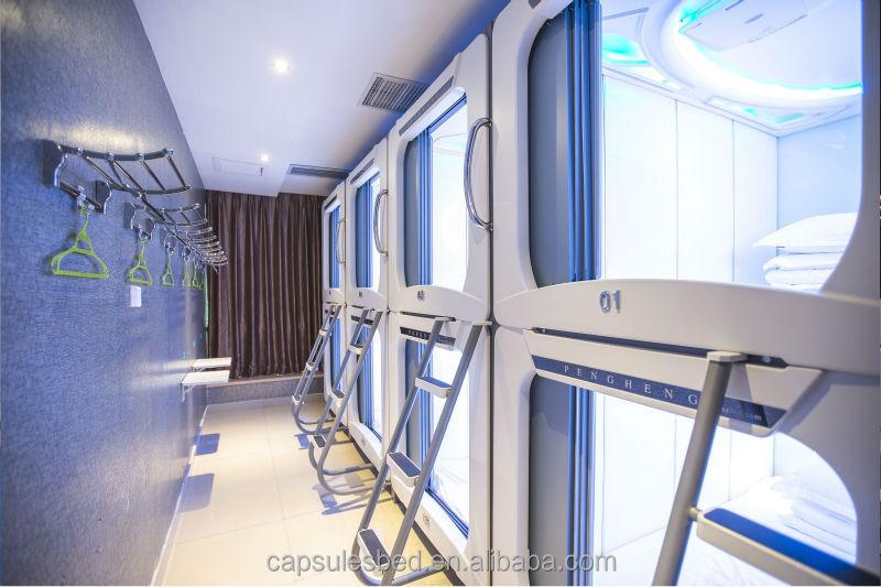 Modern Hostel Bedroom Furniture Set For Capsule Hostel