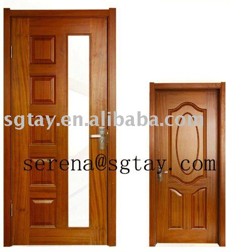 Placage peinture moul porte en bois portes id de produit 450648287 for Peinture porte bois
