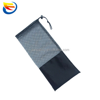 Custom Mesh Polyester Long Pull String Bag Drawstring