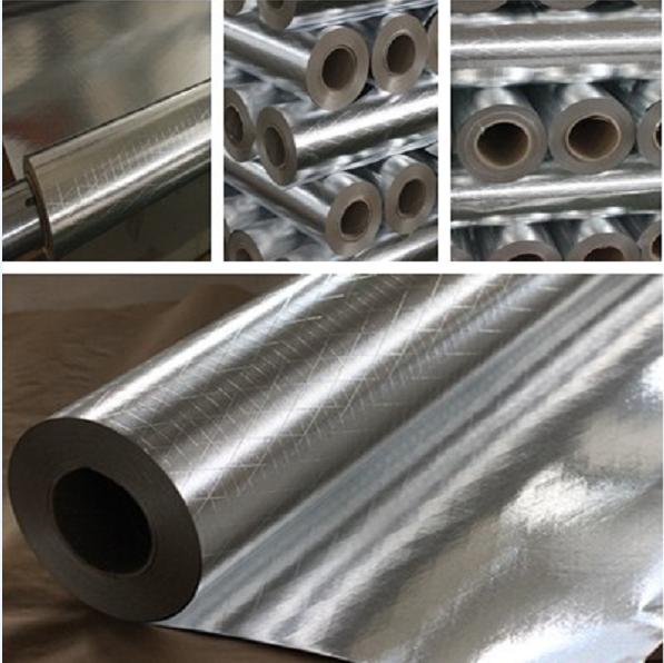Heat Resistant Aluminum Foil Insulation Double Side