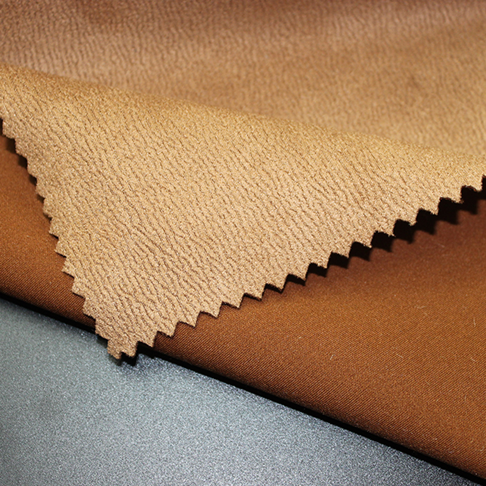 Polyester and Nylon microfiber suede fabric for sofa fabric,curtain,home textile