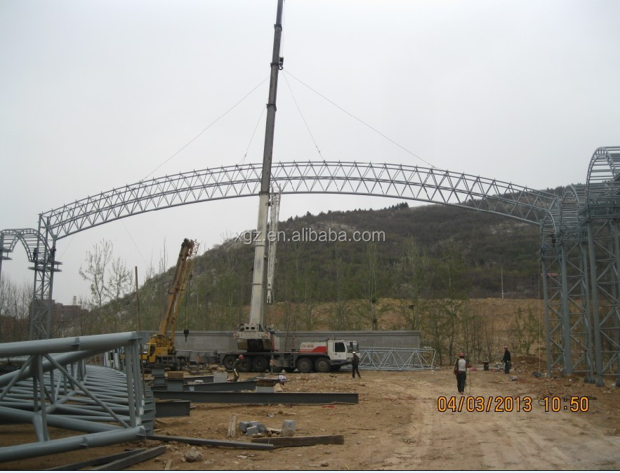 Prefabricated tubular steel structure