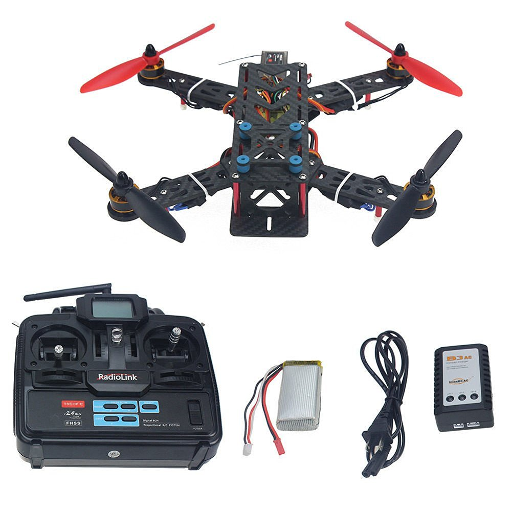 Buy QWinOut Mini 250 Carbon Fiber RC Drone Quadcopter 4-Axis