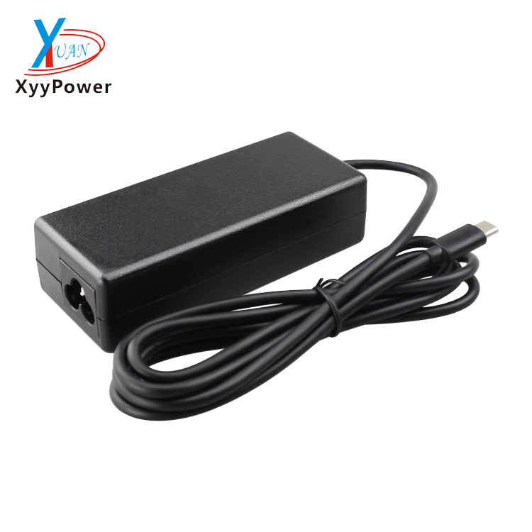 Fast Charger 5V/9V /12V/ 15V/ 3A 20V 2.25A Laptop Computer adapter Type C PD USB Wall Charger with USB C45W Power