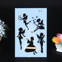 Wholesale custom stencil painting template for wall
