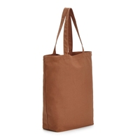High quality promotional pure color cotton shopping bags
