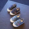 Boys Sports Girls Canvas Flats Children Shoes Kids Sneakers Casual Sneakers in Denim Jeans Color Kids Shoes