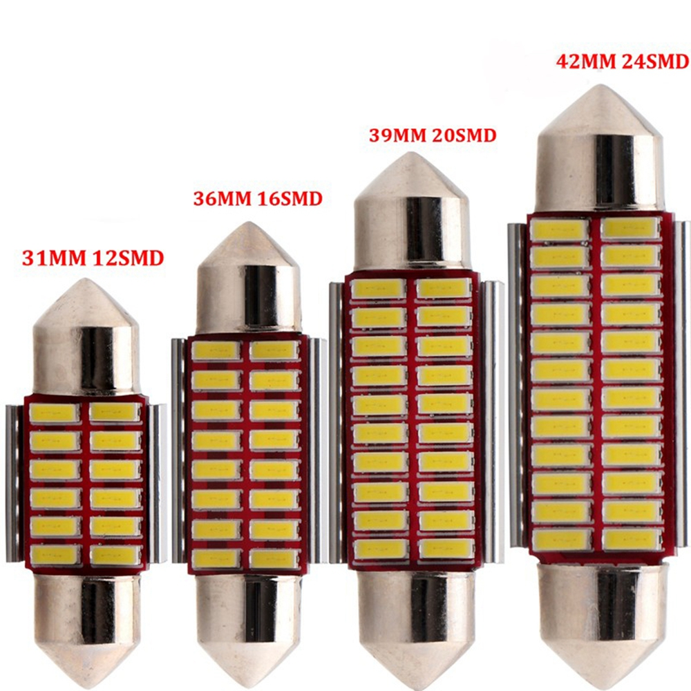 31mm 36mm 39mm 41mm C5W C10W 4014 Led-lampe CANBUS FEHLERLOSE Auto Girlande Lampe Auto Innenbeleuchtung