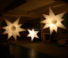 led inflatable lighting decoration star for party and night club