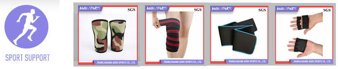 High quality weight lifting distributor neoprene knee support