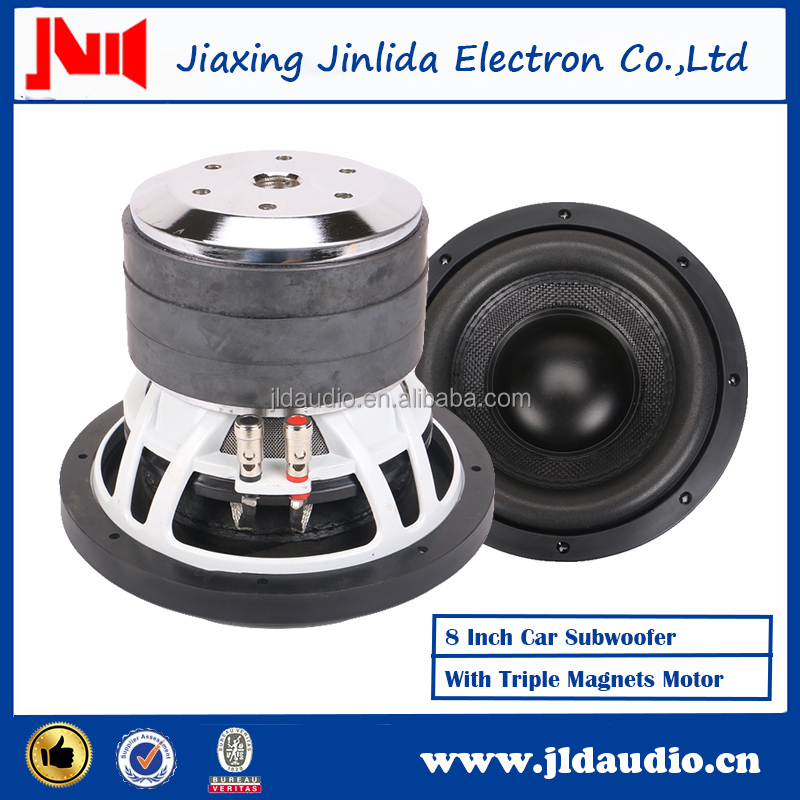 "JLDAudio Best Acoustic Brand 8"" Speakers DC 12V Car Audio Subwoofer"
