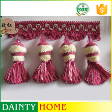 Straight Pompom Fringe, Pom Pom Trims, Curtian Lace Curtain Accessories