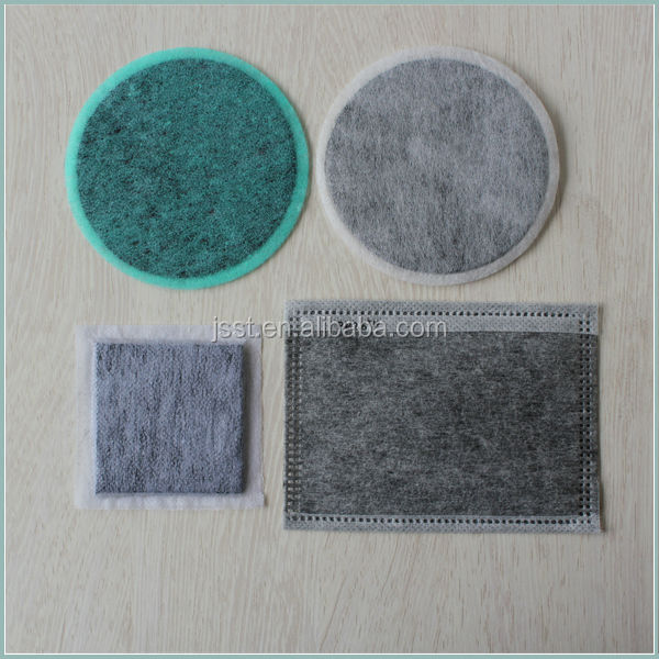 Activated Carbon Nonwoven For Dustproof Mask
