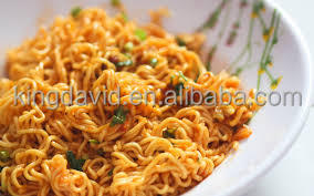 Very delicous and healthy 3 Flavors instant Noodle mi goreng from chinese manufacturer