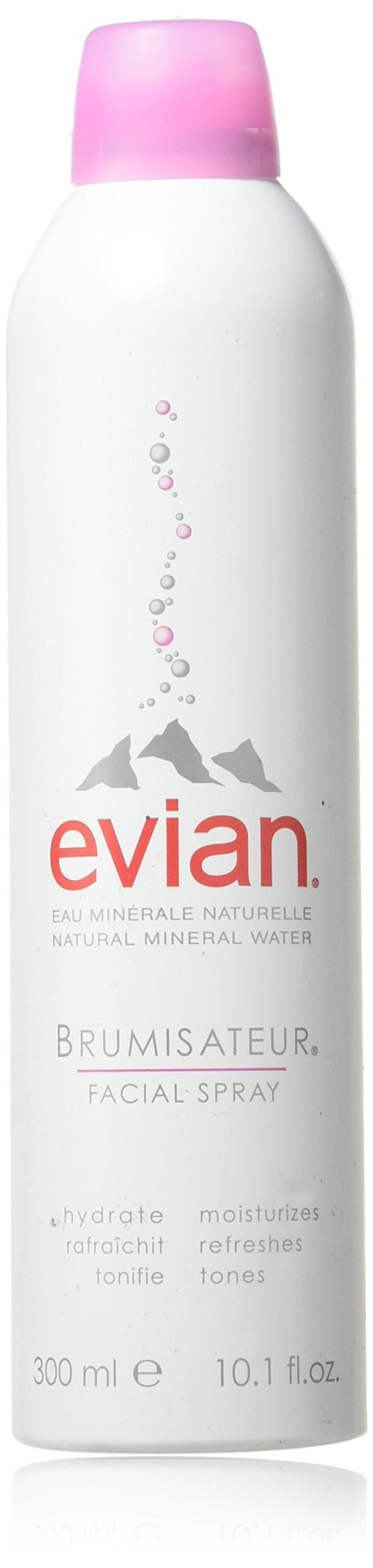 Buy Evian Natural Mineral Water Spray 300ml Moisturizing Facial 300 Ml 101 Oz