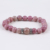 fluorite stone bead bracelet 2018 custom jewellery daily wear bangle