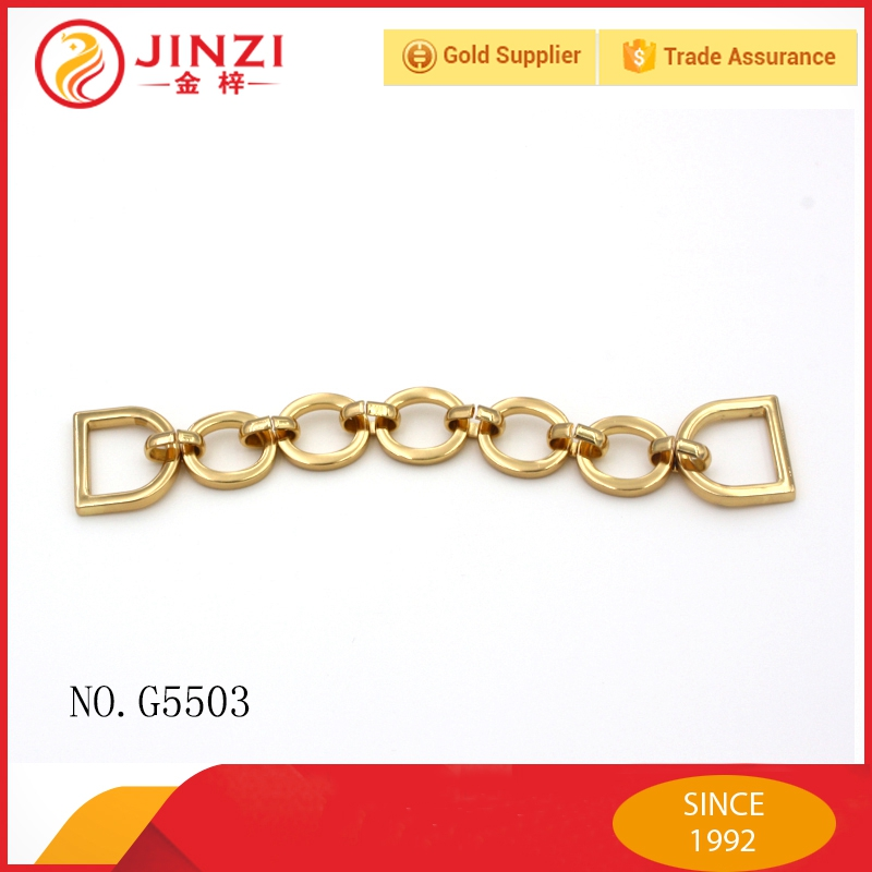 Metal accessories shoulder chains for handbag