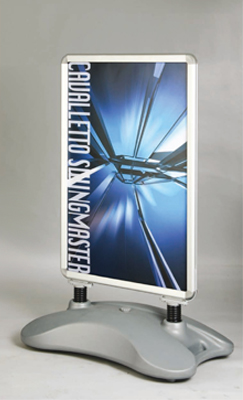 High Quality Water Base Sign Board Aluminium Shop Sign Board A1 Size