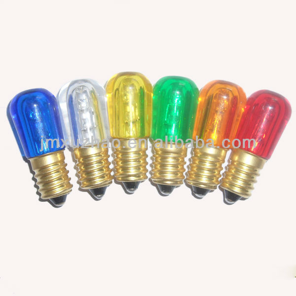 ce led b19 color papaye e14 ampoule led ampoules de remplacement blanc rouge papaye - Ampoule Colore