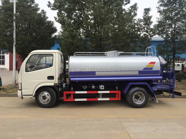Dongfeng 5000 liter water tank truck for sale,water carrier truck