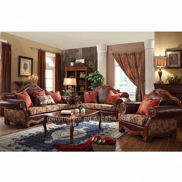 De madera de los últimos diseños de muebles sofás para la sala de ...