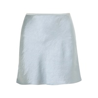 women mini skirt ladies sexy mature wrap soft satin fabric skirt high quality Hand wash