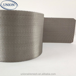 Reverse Dutch Mesh / Filter Belt For Plastic Extruder Industry 152x24