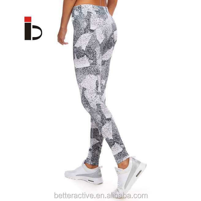 New printing galaxy shiny lycra spandex leggings made in China