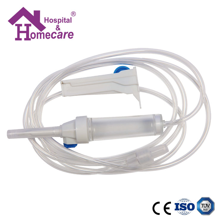 CE and ISO Approved Medical Disposable I.V. Infusion Set with Soft Tube