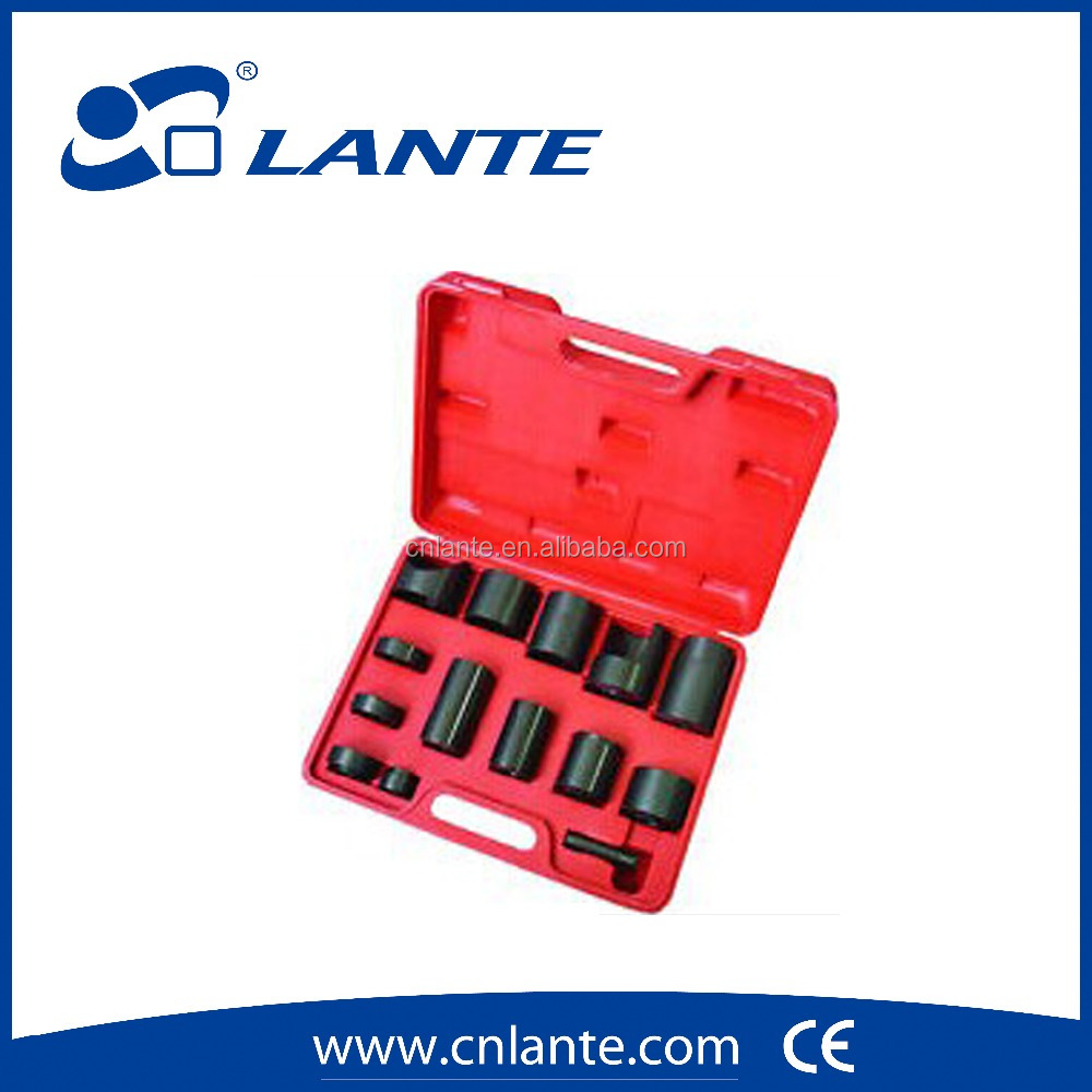 Vehicle Maintenance Product 14 Piece Ball Joint Service Tool & Master Adaptor Set