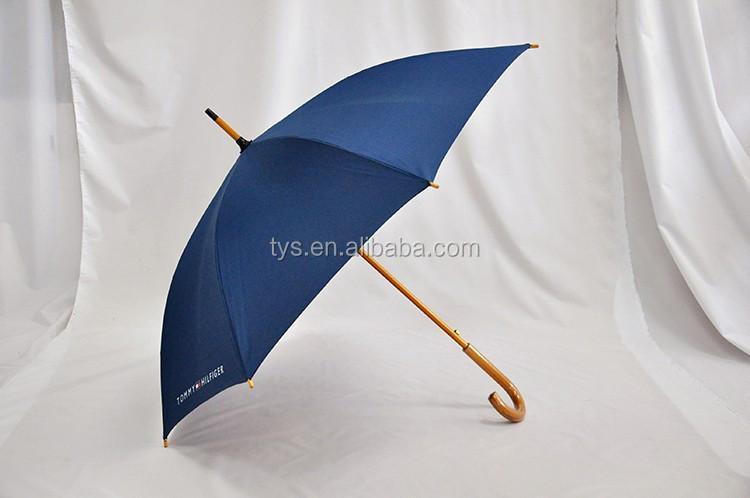 Best Price Straight Umbrella With Wooden Handle