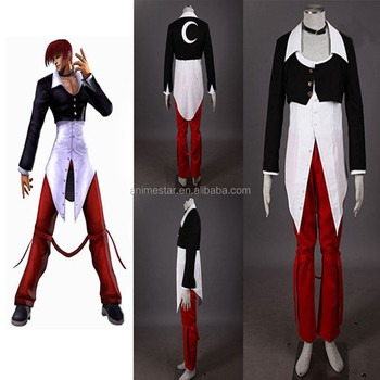 Wholesale Game The King Of Fighters Iori Yagami Anime Cute Cosplay Adult  Costumes - Buy King Of Fighter Costume,Cosplay Costumes,Anime Cute Costumes