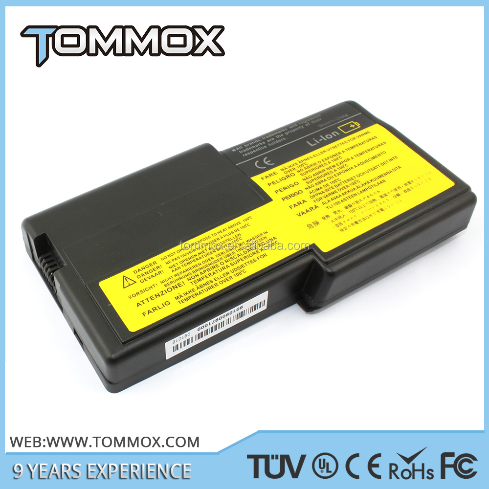 new laptop battery for IBM ThinkPad T20 Series 10.8V 5200MAH --- 02K6620